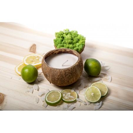 Lumanare soia nuca de cocos